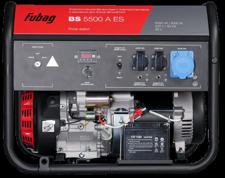 Генератор бензиновый с электростартером FUBAG BS 5500 A ES